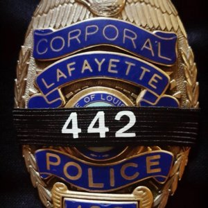 Corporal Michael Middlebrook Badge 442