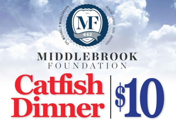 Middlebrook Foundation Catfish Dinner